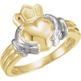 Duo Claddagh Ring