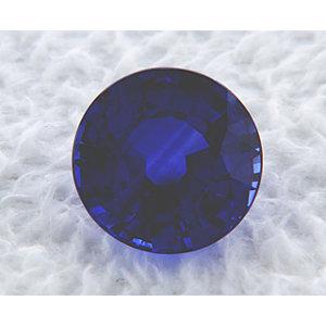 Sapphire Round 1.03 carat Blue Photo