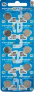 Renata #301 Pack of 10 0% Mercury Silver Oxide Watch Batteries