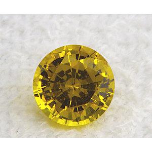 Sapphire Round 0.91 carat Yellow Photo