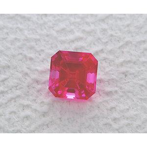 Sapphire Asscher 1.20 carat Purple Photo