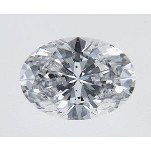 Oval 0.31 carat E SI2 Photo