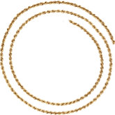 2.5mm Rope Chain(Replacing CH507)
