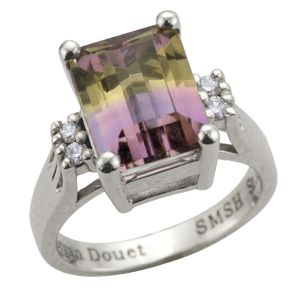Special order ring for Troy Douet