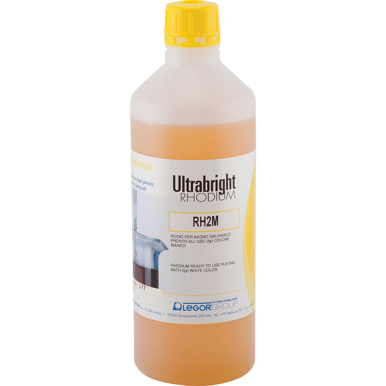Legor Ultrabright Rhodium Bath Plating Solution - 500ml 1