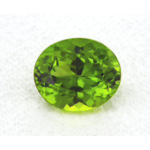 Peridot Oval 5.45 carat Green Photo