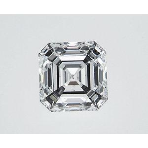 Asscher 1.01 carat G SI1 Photo