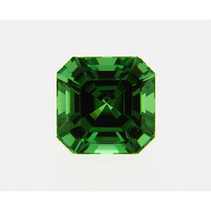 Garnet Asscher 0.37 carat Green Photo