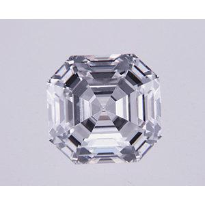Asscher 0.55 carat D VS2 Photo