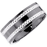 Ceramic Couture® & Sterling Silver Band