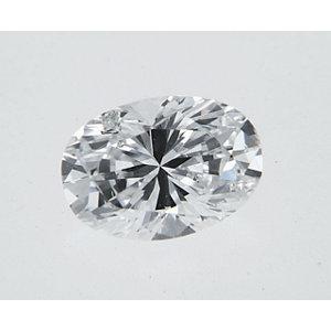 Oval 0.31 carat D I1 Photo