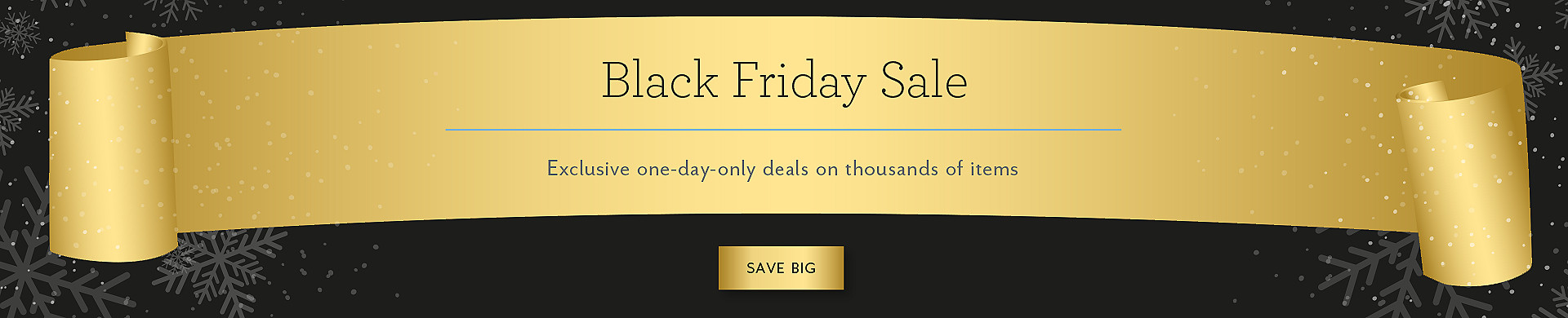 2015-11-27 | Black Friday Sale Homepage Banner