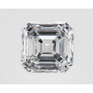 Asscher 0.70 carat H VS1 Photo