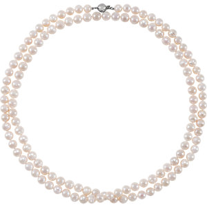 Sterling Silver Freshwater Cultured Pearl 42