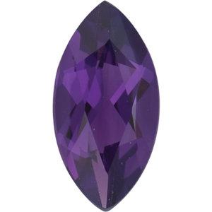 Amethyst Marquise 0.22 carat Purple Photo