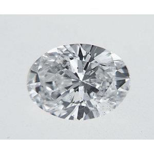 Oval 0.37 carat D SI2 Photo