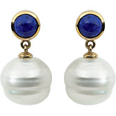 Accented Pearl Earrings