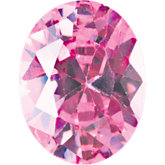 Oval Pink Cubic Zirconia