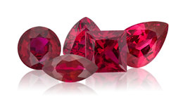 Genuine Ruby Gemstone Jewelry