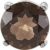 Genuine Smoky Quartz Pendant