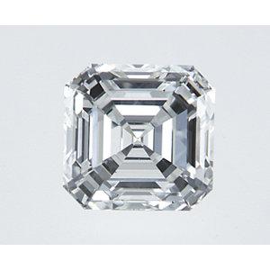 Asscher 0.50 carat G VS2 Photo