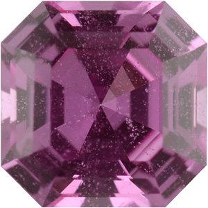 Sapphire Asscher 0.86 carat Pink Photo