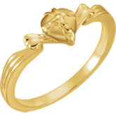 The Gift Wrapped Heart® Ring