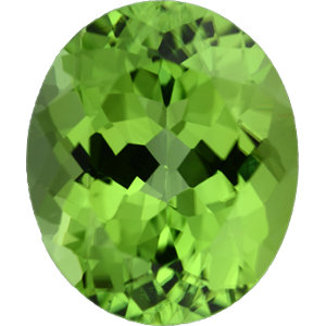 Peridot Oval 6.22 carat Green Photo