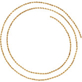 1.6mm Diamond-Cut Rope Chain
