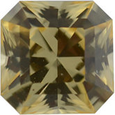 Asscher Cut Princess Genuine Yellow Sapphire (Black Box)