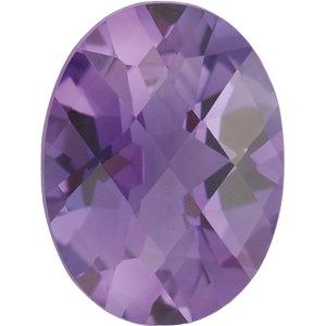 Amethyst Oval 0.35 carat Purple Photo