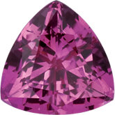 Trillion Chatham Created Pink Sapphire