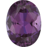 Oval Lab Created Alexandrite
