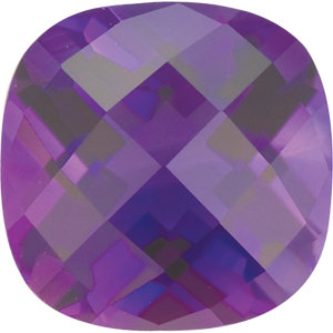 Amethyst Cushion 0.50 carat Purple Photo