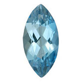 Marquise Genuine Aquamarine (Black Box)