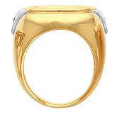 Ladies Coin Ring