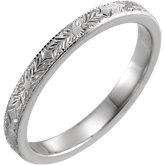 Design-Engraved Band
