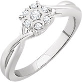 Accented Promise Ring