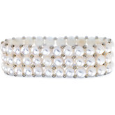 Freshwater Cultured Pearl Stretch Bracelet