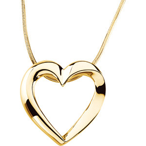 Necklace / Chain , Heart Necklace
