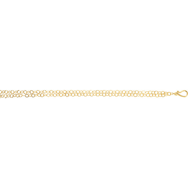 14K Yellow Gold-Plated Sterling Silver Freshwater Cultured Pearl 21