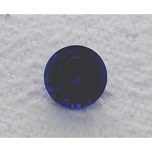 Sapphire Round 0.95 carat Blue Photo