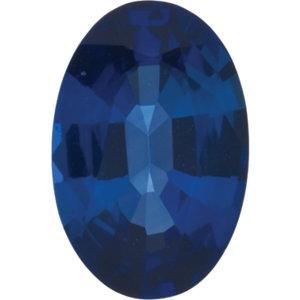 Sapphire Oval 0.25 carat Blue Photo