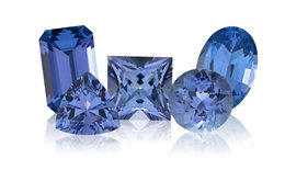 Genuine Tanzanite Gemstone Jewelry