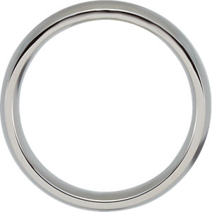 Stainless Steel 6mm Ring Size 6