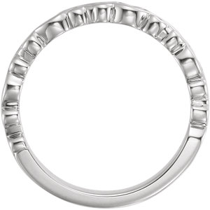 Sterling Silver Stackable Ring