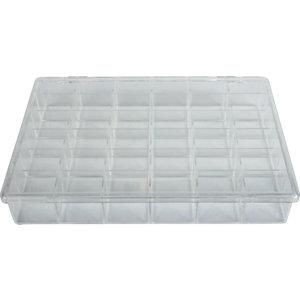 36 Compartment Plastic Storage Box Stuller