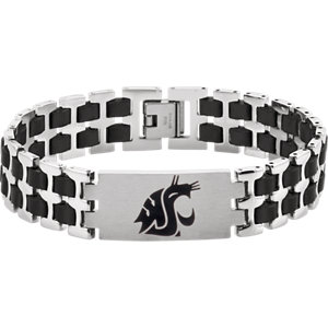 Stainless Steel Washington State Cougars Logo 8.5