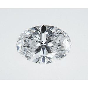 Oval 0.30 carat D VS1 Photo