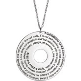 Bible Scripture Necklace